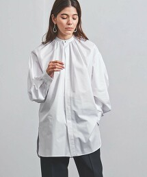 <HYKE>T/C 碎褶 襯衫 ■■■ 日本製