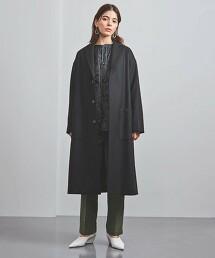 <HYKE>W SHOP COAT 大衣 ■■■ 日本製
