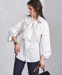 <Kaon>大蝴蝶結襯衫◆