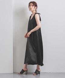<Kaon>緞面長版洋裝