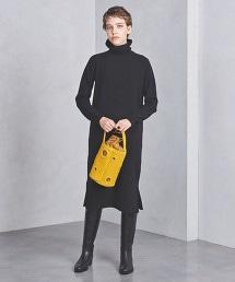 <DESIGNERS REMIX>高領針織連身裙