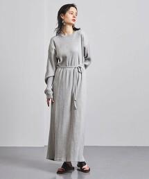 <BASERANGE>SHAW 羅紋 長袖 洋裝 葡萄牙製