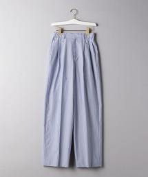 <J&M DAVIDSON>直條紋 打摺褲 日本製 ■■■