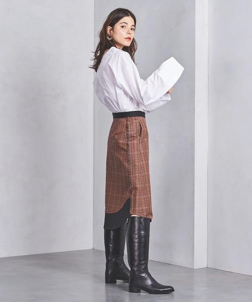 特別訂製<CINOH>格紋裙