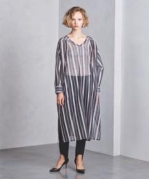 <near.nippon>直條紋連身裙