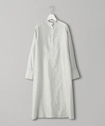 <CINOH>標準領襯衫式連身裙
