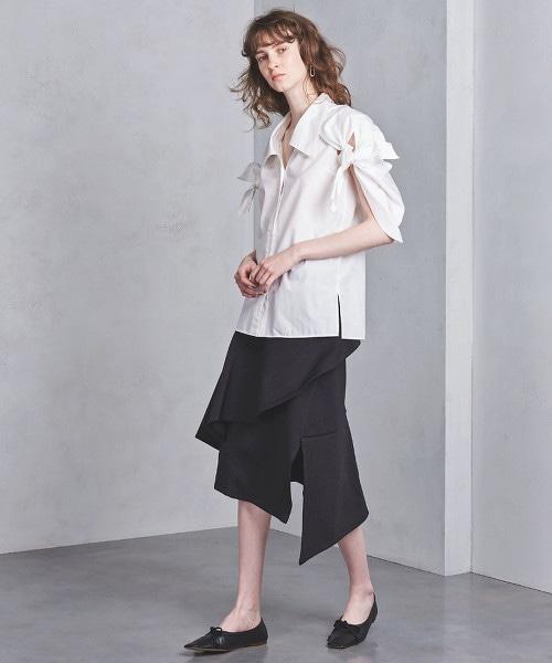 部分特別訂製<AKIRA NAKA>針織垂墜裙■■■
