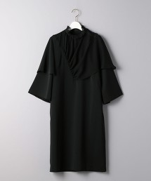 <AKIRA NAKA> 典雅黑洋裝 ■■■ OUTLET商品