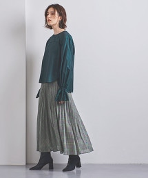 <near.nippon>格紋 摺裙