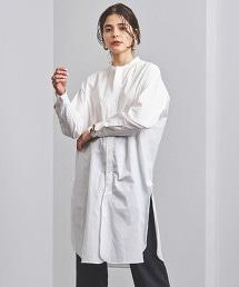 <FILL THE BILL> 立領 襯衫式洋裝 日本製■■■