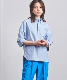 <MADISON BLUE>釦領短袖襯衫 日本製 ■■■