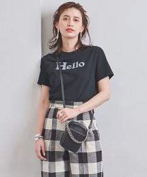 <MADISON BLUE>HELLO LOGO T恤 ■■■