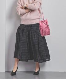 <AKIRA NAKA>不對襯 蛋糕裙 日本製■■■