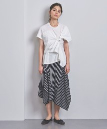 <AKIRA NAKA>色塊 針織裙 日本製■■■