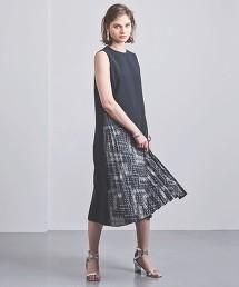 特別訂製<EZUMi>佩斯利側邊百褶洋裝