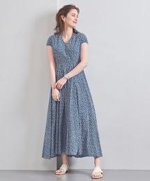 特別訂製<MARIHA>印刷 V領 洋裝