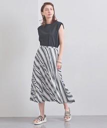 <near.nippon>印花百褶裙 日本製