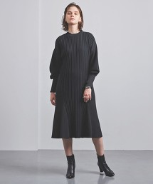 <AKIRA NAKA> 蓬鬆袖 針織洋裝 日本製 ■■■