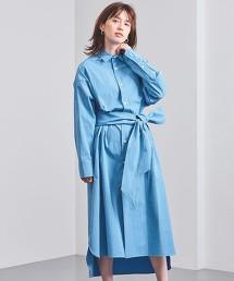 <MADISON BLUE>附腰帶 襯衫式洋裝 日本製 ■■■