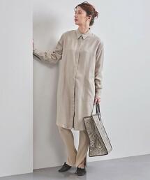 <FILL THE BILL>法蘭絨 襯衫式洋裝