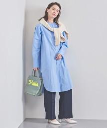 特別訂製<FILL THE BILL> 立領 襯衫式洋裝 日本製