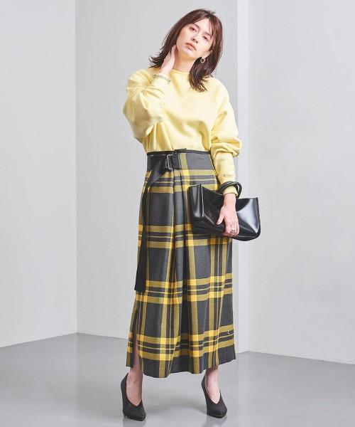特別訂製<near.nippon>格紋高腰長裙