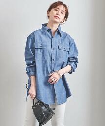 <MADISON BLUE>HAMPTON 平織襯衫 日本製 21SS■■■