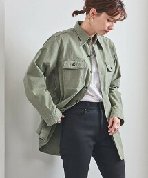 <MADISON BLUE>HAMPTON 粗棉布襯衫 日本製 21SS■■■