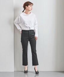 <MADISON BLUE>褲腳抽鬚 丹寧喇叭褲 日本製■■■