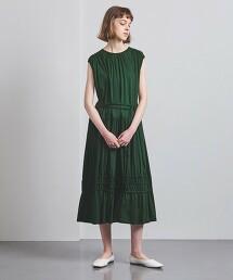 <EZUMi>抽褶 蛋糕裙 洋裝 日本製