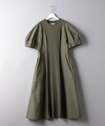 <AKIRA NAKA>抽摺袖 洋裝 ■■■ 日本製
