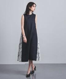 特別訂製<EZUMi>側抽褶 洋裝 日本製