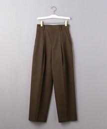 <ATON>打摺 錐形褲 日本製