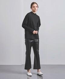 <ATON>微高領 T恤 日本製
