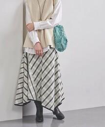 特別訂製<near.nippon>格紋 A字裙 日本製