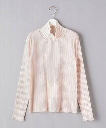 <near.nippon>直條紋 高領 T恤 日本製