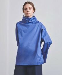 <CURRENTAGE>2WAY 襯衫 BLUE 日本製
