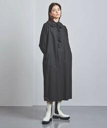 特別訂製<dahl'ia>摺邊 襯衫式洋裝 日本製