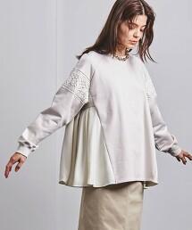 特別訂製<EZUMi>蕾絲 拼接 套頭衫 日本製