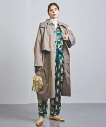 特別訂製<FILL THE BILL>寬版 巴爾瑪肯領大衣 日本製