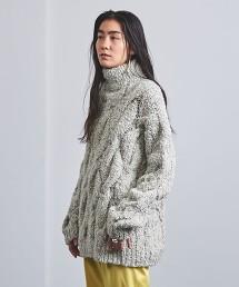 <AEWEN MATOPH> 麻花高領針織衫