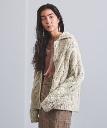 <AEWEN MATOPH> 麻花對襟外套