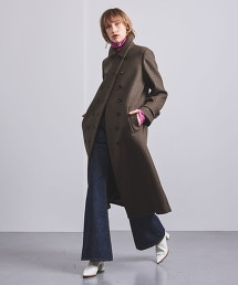 <AEWEN MATOPH> 莫爾敦雙排釦長版大衣