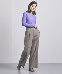 <AEWEN MATOPH> 格紋寬褲
