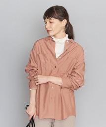 BY 縲縈寬版長袖襯衫