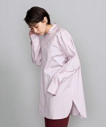 BY 直條紋立領襯衫