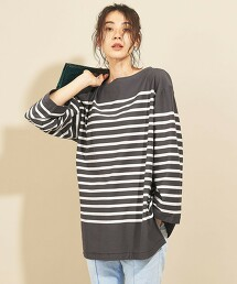 BY∴ TRADITIONAL 橫條紋 長袖T恤
