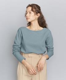 BY  雙層布不對稱領線罩衫