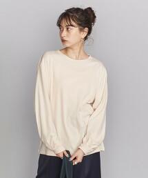 BY 柔滑純棉 蓬鬆袖 T恤 日本製