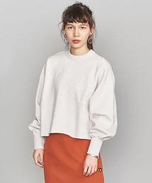 BY 蓬鬆袖短版套衫